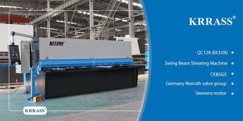 QC12K-8X3200 Swing Beam shearing machine