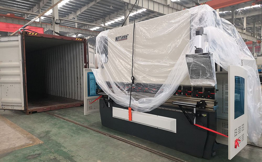 cnc press brake shipping to thailand