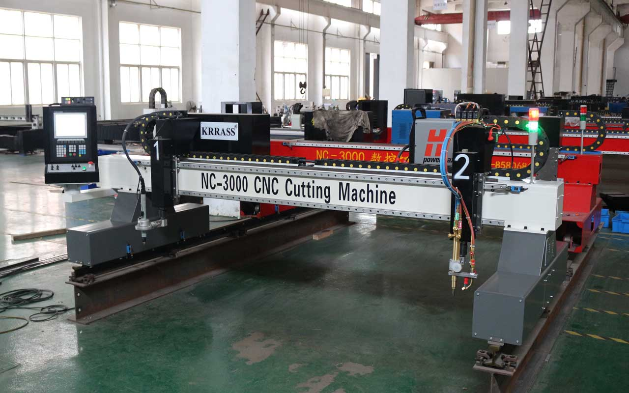 oxy flame cutting machine