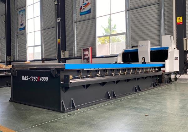 Horizontal V Grooving Machine for sheet metal